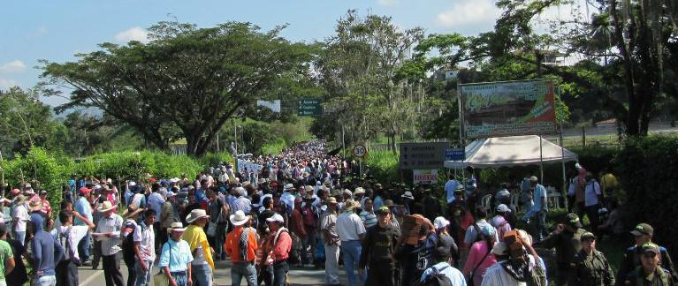 Solidaridad Paro Nacional Cafetero