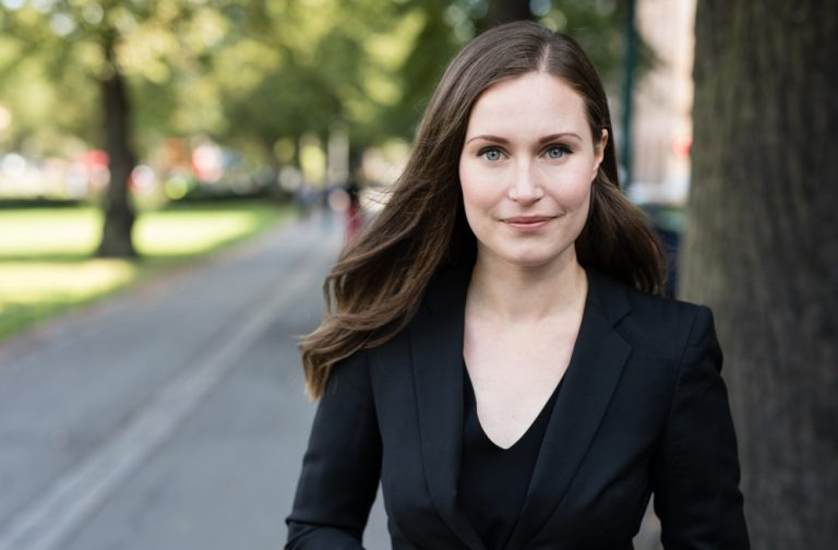 Sanna Marin – Primer Ministra de Finlandia